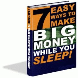 Easy Way To Win Money - 7 easy ways to make big money while you sleep with private label