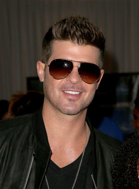 robin hecke robin thicke photos radio room arrivals at the bet