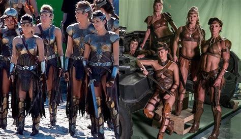 Amazon Justice League | the amazons new clothes heroic girls