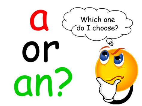 An For A by A Or An Tutorial Worksheets By Elasticbandy Teaching