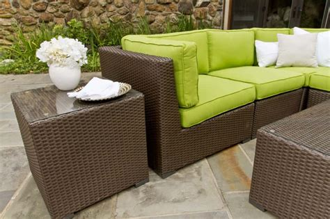 Wicker Outdoor Furniture by Modern Or Traditional Garden Garden Furniture Ireland