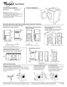 whirlpool duet washer pedestal installation whirlpool washer wfw9400v user s guide manualsonline