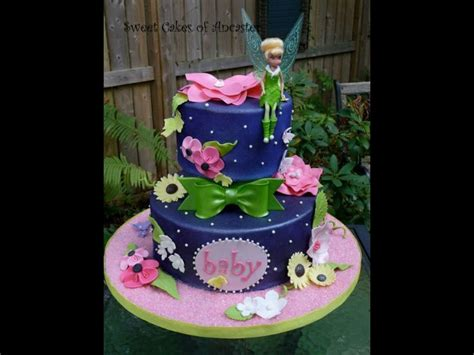 Tinkerbell Baby Shower Ideas by 17 Best Images About Tinkerbell Baby Shower Cake Ideas On