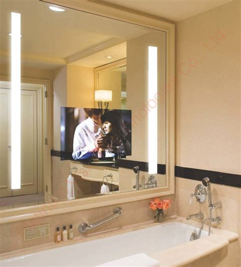 tv in the mirror bathroom china hotel mirror tv china bathroom tv waterproof tv
