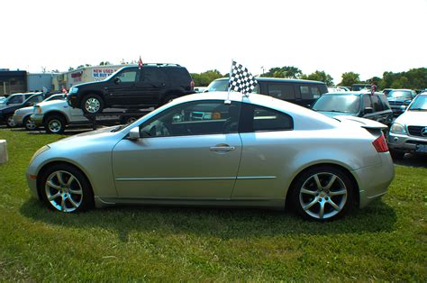 fields infiniti libertyville 2004 infiniti g35 silver sport coupe used car sale