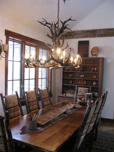Rustic Dining Rooms Refined Rustic Dining Room Future Home Ideas Pinterest