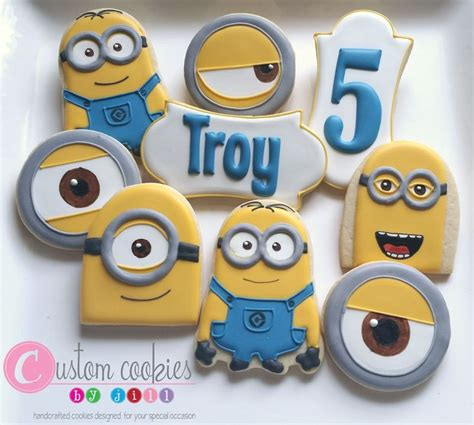 minion cookies 265 curated minions despicable me inspired cookies cakes