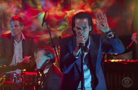 best nick cave song nick cave and the bad seeds gorgeous colbert