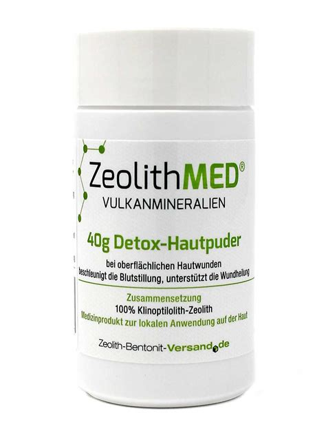 Uf Detox by Zeolite Med Uf Skin Powder 40g Directly From The