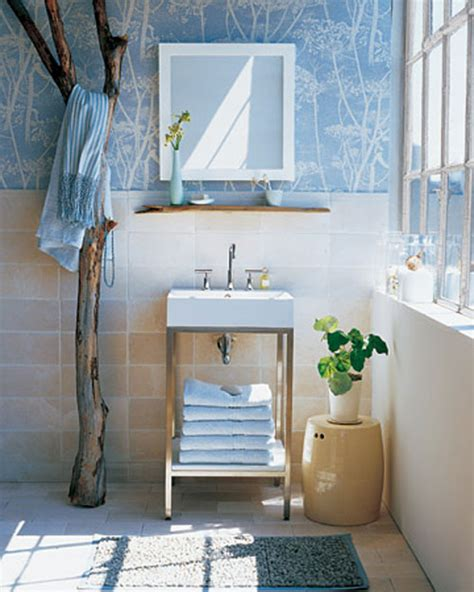 blue bathroom wallpaper decorating with blue the most popular color in the world