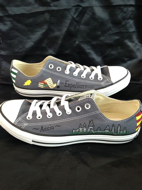 harry shoes for harry potter inspired painted shoes