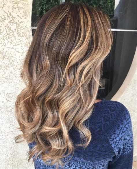 hairstyles brown hair with caramel highlights 60 looks with caramel highlights on brown and dark brown hair