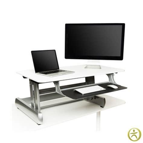 desktop standing desk fitness inmovement elevate desktop dt2 standing desks
