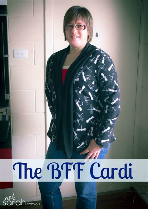 Basic Cardigan Ori Elsire Cardi Casual For sew the bff cardi turn any pattern into a scarf neck cardigan ask