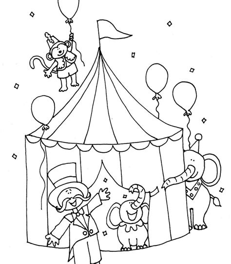 clown coloring pages pdf circus elephant coloring pages free printable circus