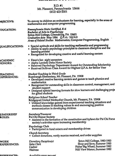 resumes job resume with no experience creer pro