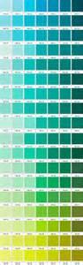 shades of green color chart paleta de verdes pantone 2 pantone pinterest happy