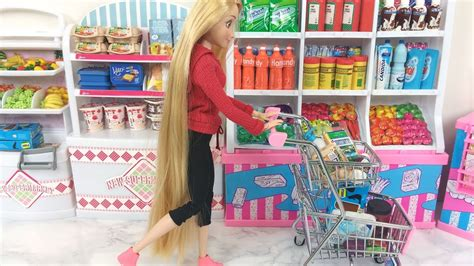 monster high toy items in disney store on ebay rapunzel grocery store elsa barbie supermarket barbie