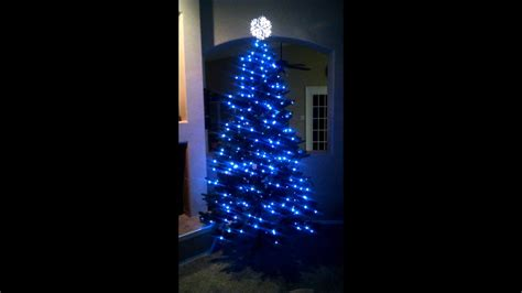 lowes led trees lowe s led tree on display mode
