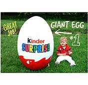 GIANT HUGE SURPRISE EGG Giant Kinder Surprise Egg Hot