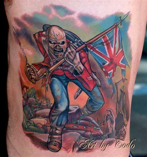 iron maiden eddie tattoo designs iron maiden the trooper eddie trooper by todo abt
