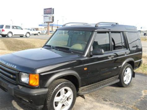 how it works cars 1999 land rover discovery series ii windshield wipe control sell used 1999 land rover discovery series ii sport utility 4 door 4 0l in albertville alabama