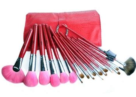 Implora Deluxe Professional Make Up Collection the top quality professional make up brush collection deluxe marten hair brush set with 21
