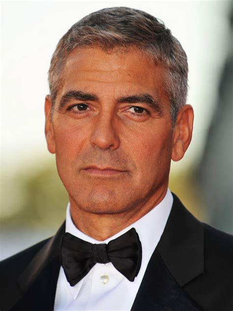George Clooney Hairstyle by George Clooney S Hairstyle