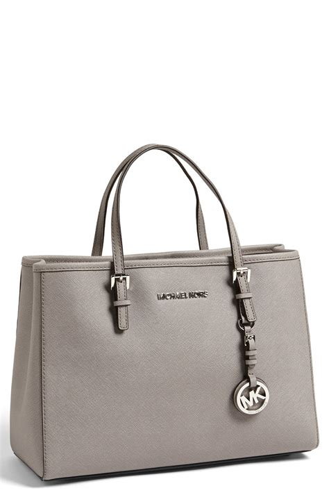 M Hael Kors Saffiano michael michael kors jet set medium saffiano leather tote