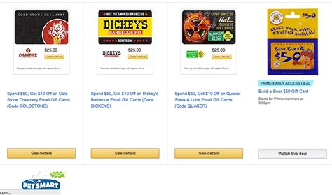 Do Amazon Gift Cards Go On Sale - you can always get discounted gift cards from amazon deals we like