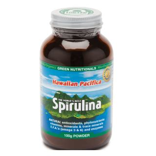 Spirulina Pacifica Detox by Spirulina Organic Supervitalgreens Au