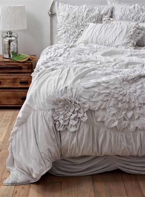 love comforter seriously love ruffled bedding for the home pinterest