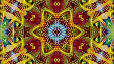 Home Design Mac abstract multicolor fractals psychedelic wallpaper 7471