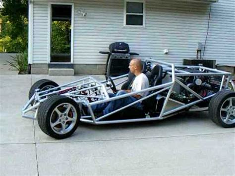 home built car plans ariel atom inspired v 8 project car first test drive