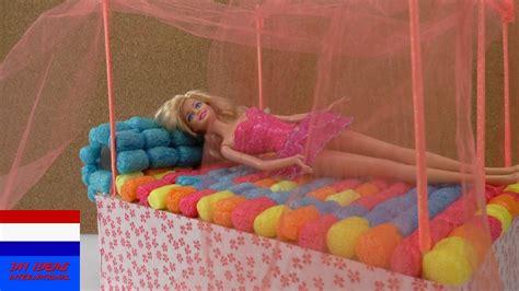 Hemelbed Zelf Maken by Barbiebed Knutselen Diy Hemelbed Zelf Maken