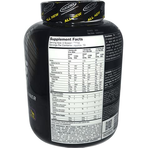Masstech Muscletech muscletech mass tech advanced mass gainer
