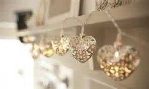 Indoor Garden Wedding - heart fairy lights fairy lights amp fun