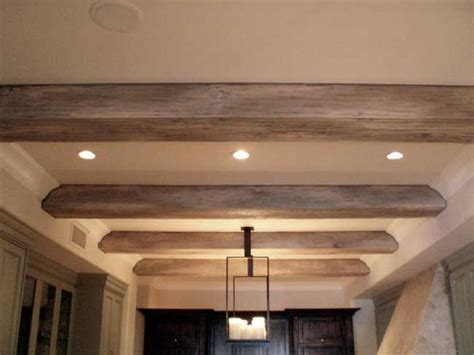 Faux Driftwood Beams For The Home Pinterest Discover False Ceiling Beams