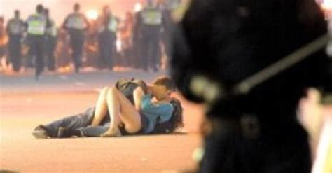 Vancouver Riot Kiss Meme - kissing vancouver couple is a meme in the making