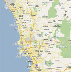 Maps Of San Diego by San Diego Visitor Center Map