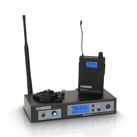 Ear Monitor Wireless ld systems mei100g2 in ear monitoring wireless system at