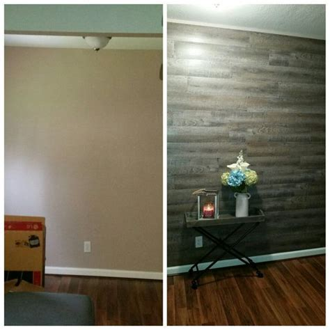 WATCH: How to Make an Accent Wall with Peel and Stick Flooring