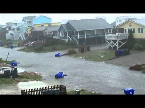street flooding 8/1/2011 oak island, nc (low res) youtube