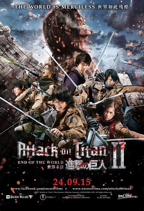Watch Attack On Titan Part 2 2015 Attack On Titan Part 2 2015 Full Movie