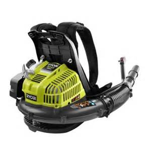 ryobi 185 mph 510 cfm gas backpack blower ry08420a the