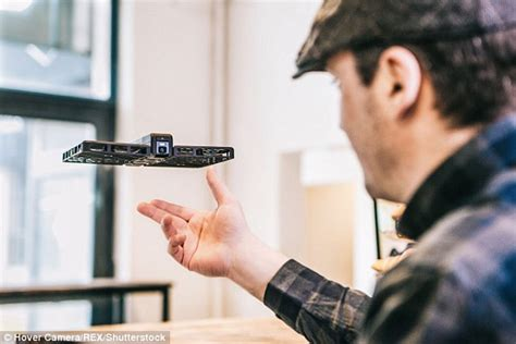 Drone Air Selfie hover floats in mid air to track your and