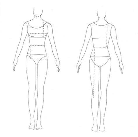 costume design template model sketches for fashion design templates