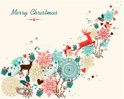 merry christmas vintage colors transparency stock  freeimagescom