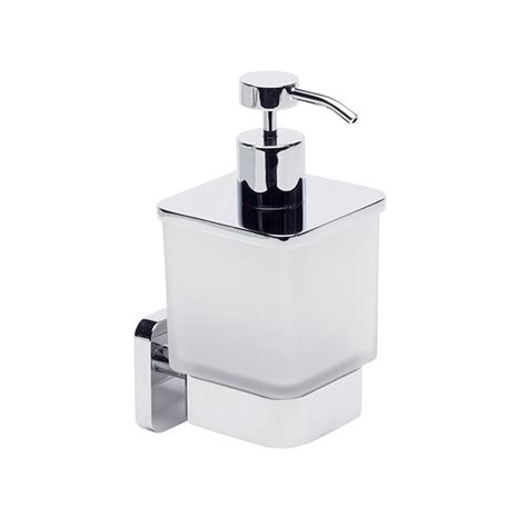 roper rhodes bathroom accessories roper rhodes ignite frosted glass soap dispenser 8515 02