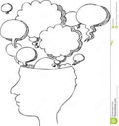 Empty Head Clipart  ClipartFest sketch template